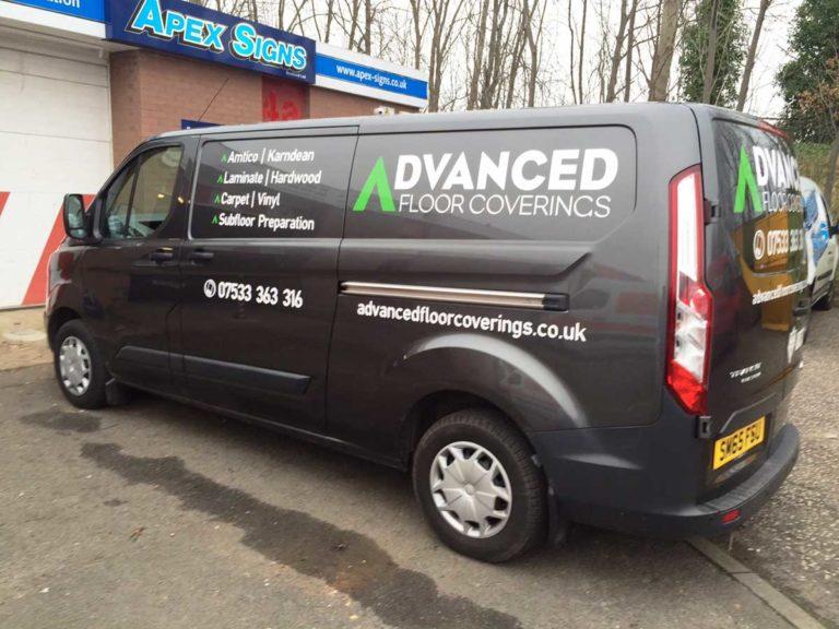 advanced van web